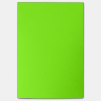 Neon Chartreuse Best Monochrome Post-it® Notes
