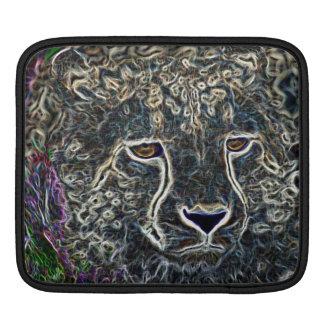 Neon Cheetah Sleeves For iPads