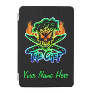 Neon Chef Skull iPad Mini Cover