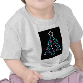 Neon Christmas Tree Shirts