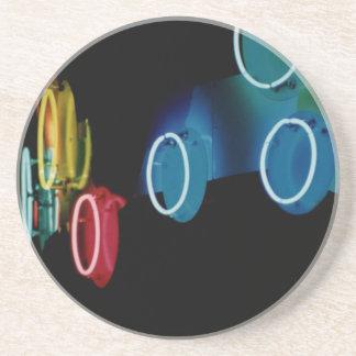 Neon Circles Coaster