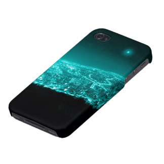 Neon City Lights iPhone 4/4S Case