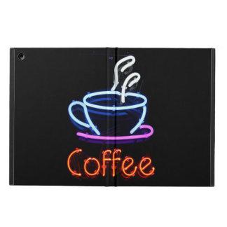Neon Coffee Sign iPad Air Cover