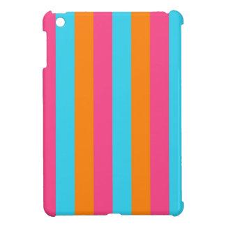 Neon Color Bold Stripe iPad Mini Case