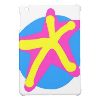 Neon color Star mini iPad case. iPad Mini Covers