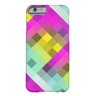 Neon Colored Mosaic Pattern iPhone 6 Case
