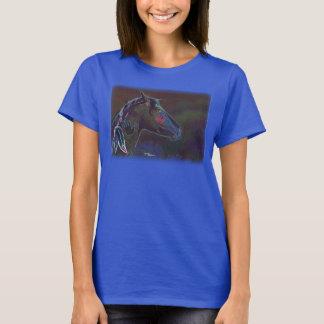 Neon colorful paint horse War pony Shirt