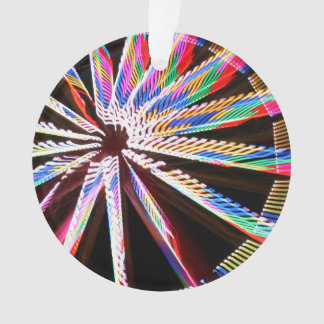 neon colors fair ride image neat abstract design