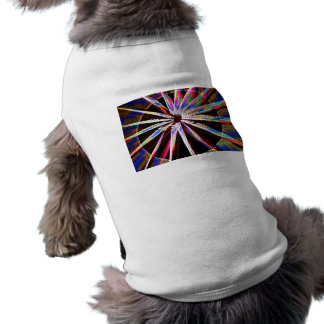 neon colors fair ride image neat abstract design dog t shirt