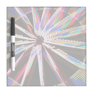 neon colors fair ride image neat abstract design dry erase board