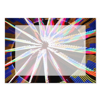 neon colors fair ride image neat abstract design personalized invitations