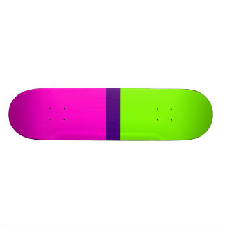 Neon Colors Skateboard