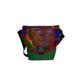 """Neon Contemplator"" Wearable FeinArt Courier Bag"