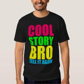 Neon Cool Story Bro Tee Shirt