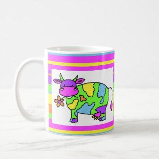 Neon Cow Mug