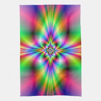 Neon Cross Kitchen Towels