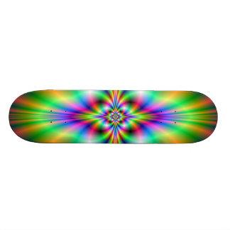 Neon Cross Skateboard