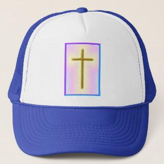 Neon Cross Trucker Hat