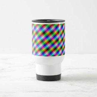 Neon Crosshatch Mug