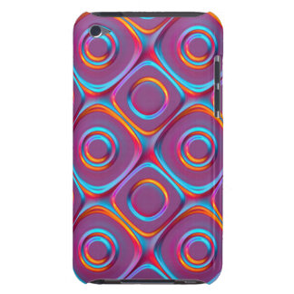 Neon Cubism Barely There iPod Case