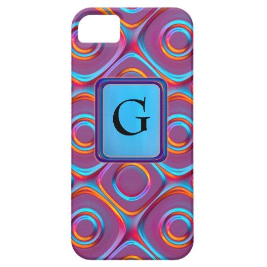 Neon Cubism iPhone SE/5/5s Case