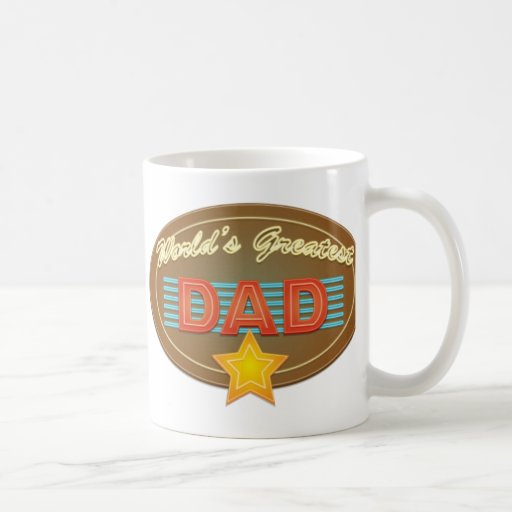 Neon Dad Coffee Mugs