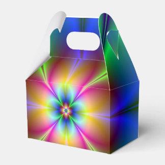 Neon Daisy Favor Box