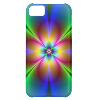 Neon Daisy Picture for I Phone Case For iPhone 5C