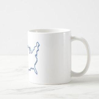 Neón de América Tazas De Café