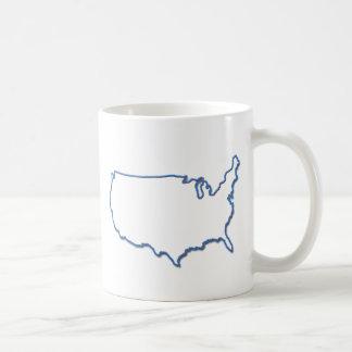 Neón de América Taza De Café