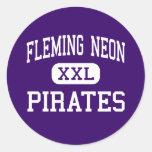 Neón de Fleming - piratas - alto - Kentucky de neó Etiquetas