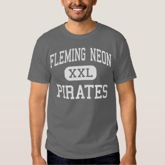 Neón de Fleming - piratas - alto - Kentucky de Polera