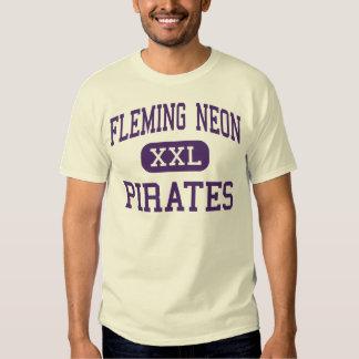 Neón de Fleming - piratas - alto - Kentucky de Poleras