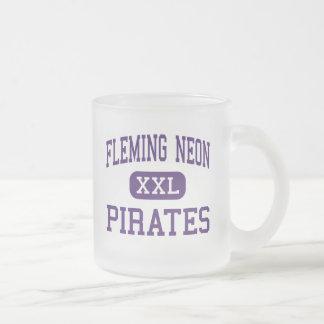 Neón de Fleming - piratas - alto - Kentucky de Taza De Cristal