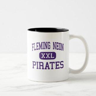 Neón de Fleming - piratas - alto - Kentucky de Taza De Dos Tonos
