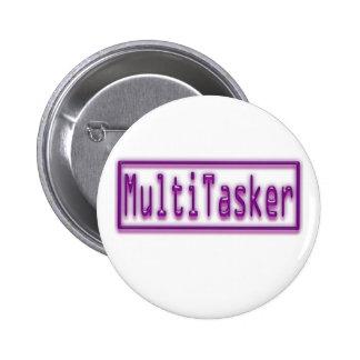 Neón de la púrpura de MultiTasker Pin