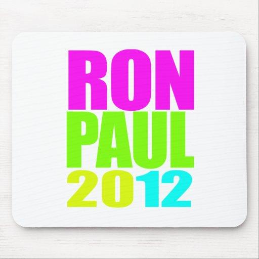 NEÓN DE RON PAUL 2012 TAPETES DE RATÓN