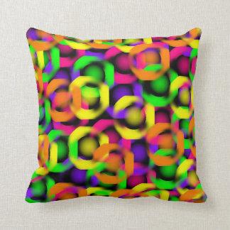 Neon  Design Throw Pillow
