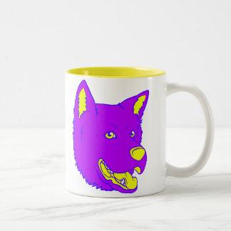 Neon Dog Mugs