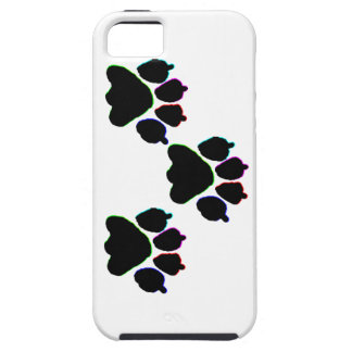 NEON DOG PAWS iPhone 5 CASE