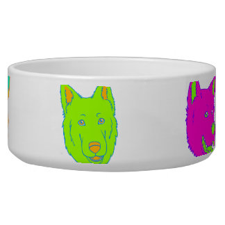 Neon Dogs Bowl