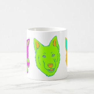 Neon Dogs Mug