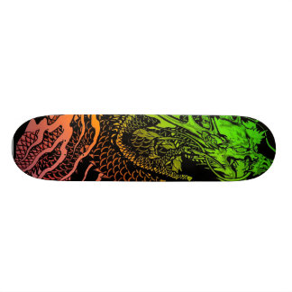 Neon Dragon Skateboard