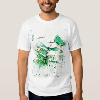 Neon Drummer T-shirt