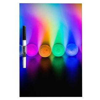 Neon Dry-Erase Board