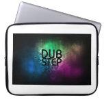 Neon Dubstep laptop sleeve