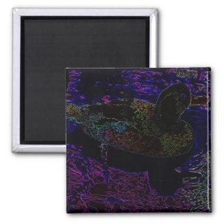 Neon Duck Magnet