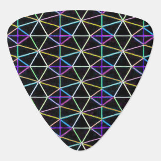 Neon Electric Light Guitar Pick