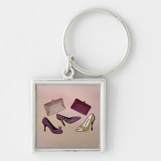 Neon Electric Steppin Out Keychain