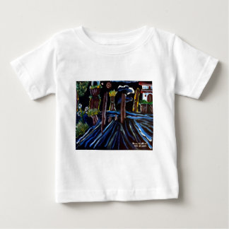Neon Electric Trees Baby T-Shirt